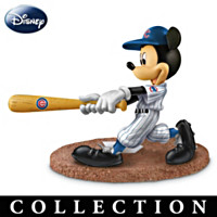 Mickey & Friends Chicago Cubs All-Stars Figurine Collection