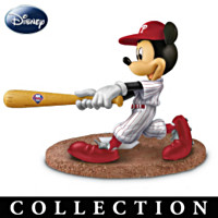 Mickey & Friends Phillies All-Stars Figurine Collection