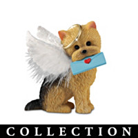 Precious Yorkie Angels Figurine Collection
