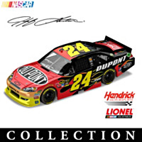 Jeff Gordon No. 24 2012 Paint Schemes Diecast Car Collection