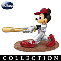 Mickey & Friends Cardinals World Series Figurine Collection