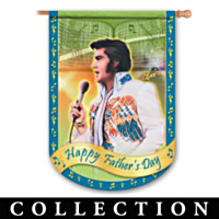 Elvis Presley Rockin' Through The Year Flag Collection