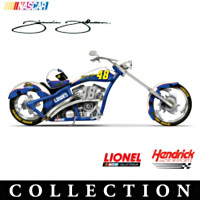 Jimmie Johnson Champion Chopper Figurine Collection