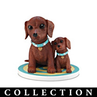 My Darling Little Dachshund Figurine Collection