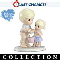 Precious Moments Daddy's Little Girl Figurine Collection