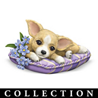 Pretty In Purple Chihuahua Figurine Collection