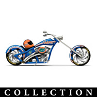 University Of Florida Motorcycle Figurine Collection