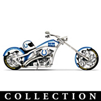 Indianapolis Colts Motorcycle Figurine Collection