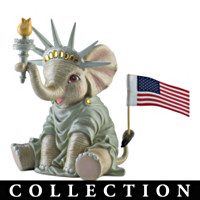 Peanut's Salute To America Figurine Collection