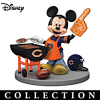 Disney Chicago Bears Mickey & Friends Figurine Collection