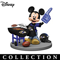 Tailgating Fun With Mickey & Friends Figurine Collection