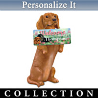 Furr-Ever Welcomed Personalized Sculpture Collection