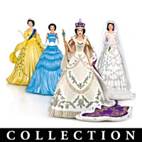 Royal Style Of Queen Elizabeth II Figurine Collection