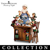 Thomas Kinkade Warm Holiday Treats Figurine Collection