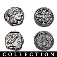 The Ancient Civilizations Silver Artifacts Coin Collection