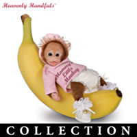 Heavenly Handfuls L'il Monkey Hugs Doll Collection