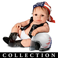 Biker Babies Baby Doll Collection