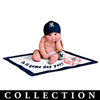 New York Yankees #1 Fan Commemorative Baby Doll Collection