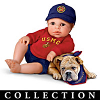 Lil' Leatherneck Salute Baby Doll Collection