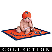 Auburn Tigers #1 Fan Commemorative Baby Doll Collection