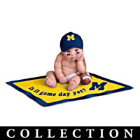 Michigan Wolverines #1 Fan Baby Doll Collection