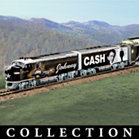 Johnny Cash Train Collection