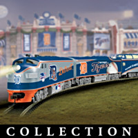 Detroit Tigers Express Train Collection