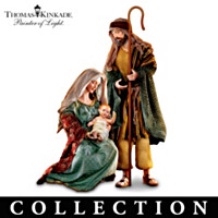 Thomas Kinkade Holy Nativity Sculpture Collection
