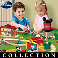 Mickey's See Ya' Real Soon Wooden Play Set Collection