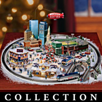 Boston Red Sox Baseball Fever Village Collection