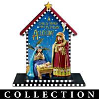 Mary Engelbreit All Is Breit Nativity Figurine Collection
