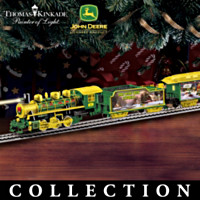 Thomas Kinkade John Deere Creek Express Train Collection