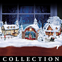 White Christmas Village Collection