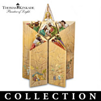 Thomas Kinkade Star Of Faith Nativity Collection