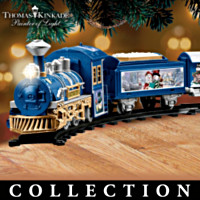 Thomas Kinkade Snowtown Express Train Collection