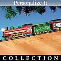 My Family, My Joy Personalized Christmas Train Collection