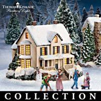 Thomas Kinkade's Artist Select Christmas Village Collection