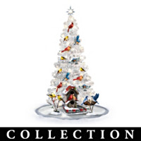 Backyard Splendor Songbird Christmas Tree Collection