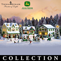 Thomas Kinkade & John Deere Creek Village Collection