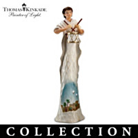 Thomas Kinkade Elegant Blessings Nativity Collection