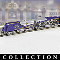 Baltimore Ravens Super Bowl Express Train Collection