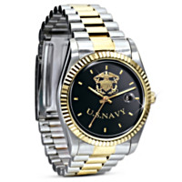 Stainless Steel U.S. Navy Watch