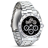 Ride Hard, Live Free Chronograph Watch
