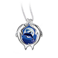 Christian Riese Lassen Moonlit Dance Pendant Necklace