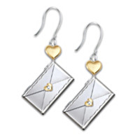 Dear Daughter Letter Of Love Earrings