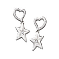 My Granddaughter, My Shining Star Earrings