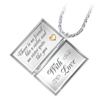 Dear Sister Letter Of Love Locket