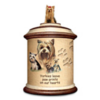Tail Waggin' Treats: Yorkie Canister