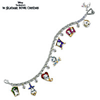 Tim Burton's The Nightmare Before Christmas Charm Bracelet