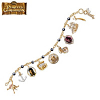 A Pirate's Treasure Charm Bracelet
